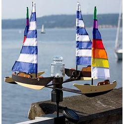 Solar Sailboat Spinner