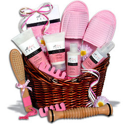 Deluxe Pedicure Gift Basket
