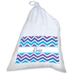 Personalized Ric Rac Laundry Bag