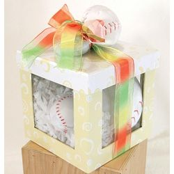 Baby's Baseball Themed Gift Set