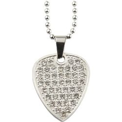 Clayton Crystal Guitar Pick Necklace