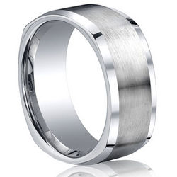 Square Cobalt Chrome Ring by Benchmark