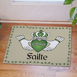 Failte Personalized Irish Doormat