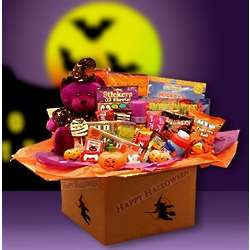 Happy Halloween Witch Teddy Gift Box