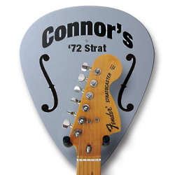 Personalized Wooden Guitar Hanger
