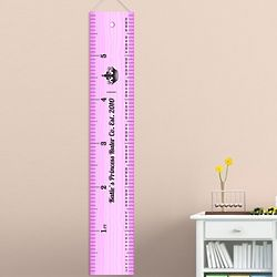 Personalized Ruler of This Room Height Chart