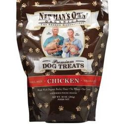 Newman's Own Organic Small Dog Chicken Treats