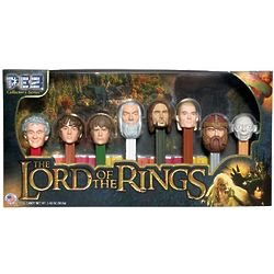 Lord of the Rings Pez Dispensers