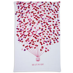 You Lift My Heart Printed Kitchen Towel