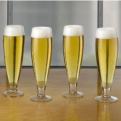 Brewmasters Conical Pilsner Glasses