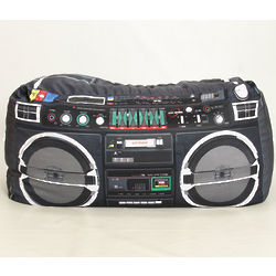 Adult-Size Boombox Beanbag Chair