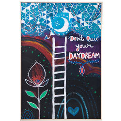 Don't Quit Your Daydream Framed Art Block