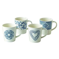 Blue Love Mugs