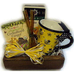 Tea Time Healthy Gift Basket