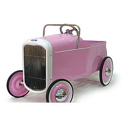 1932 Ford Pink Roaster Kid's Pedal Car