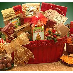 Have a Very Merry Christmas Gift Basket