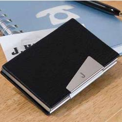 Leather Martin Business Card Holder