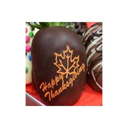 Happy Thanksgiving Chocolate Covered Strawberry Gift Box