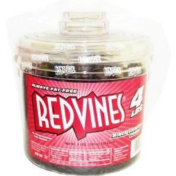 Red Vines Black Licorice Twists Tub