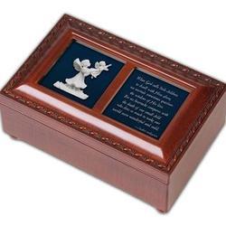 """""""Little Children"""" Poem Memorial Music Box"""