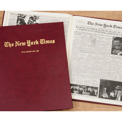 "Personalized New York Times ""Civil Rights Movement"" Book"