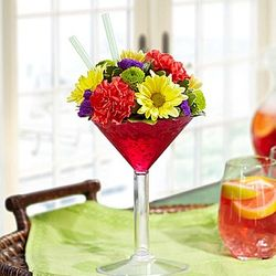 Sangria Bouquet of Flowers