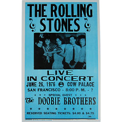 Rolling Stones Live Poster