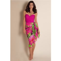 Tropical Paradise Sarong Cover Up