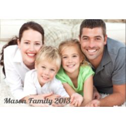 Custom Family Picture Canvas
