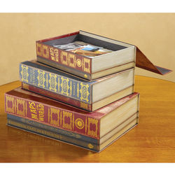 Maps of the World Book Nesting Boxes
