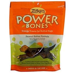 Zuke's Power Bones Peanut Butter Dog Treats