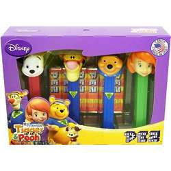 My Friends Tigger and Pooh Pez Dispensers