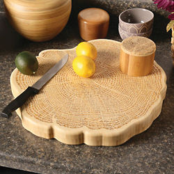 Tree of Life Bamboo Serving Board