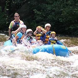 Rafting on the Pigeon River, Tennessee for 1