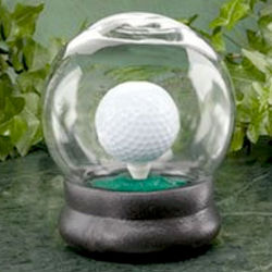 Golf Ball Water Globe Challenge