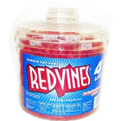 Red Vines Original Red Licorice Twists Tub