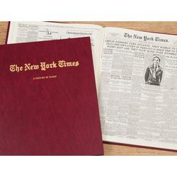 "Personalized New York Times ""History of Flight"" Book"