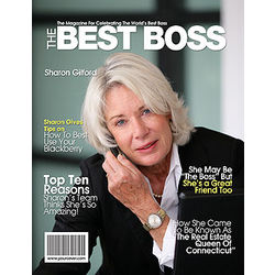 Best Boss Personalized Magazine Cover