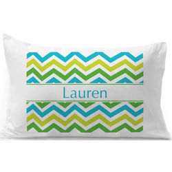 Personalized Ric Rac Pillow Case