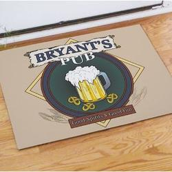 Personalized Pub Brew Doormat