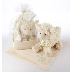 Love Ewe Plush Lamb and Blanket