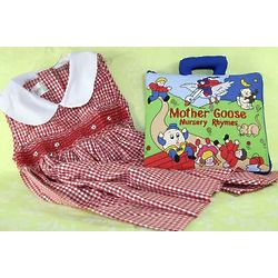 Red Dress and Nursery Rhymes Book