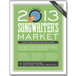 2013 Songwriter's Market Book