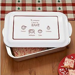 Personalized Reasons I Love Baking Pan