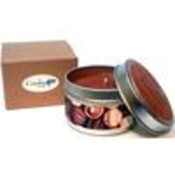Chocolate Truffles Super Scented Soy Candle Tin