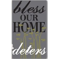 Sweet Blessing Personalized Canvas