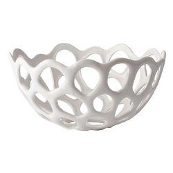 Perforated Porcelain Bowl