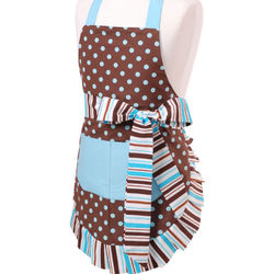 Girl's Original Blue Chocolate Apron