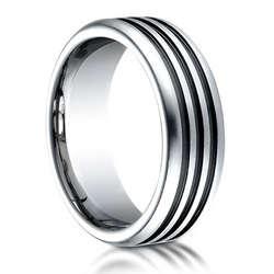 Benchmark Prazise Cobalt Chrome Ring