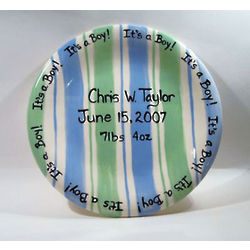 It's a Boy Personalized Plate